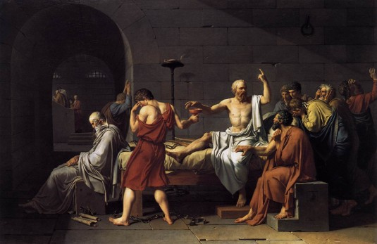 David. La mort de Socrate (1787) © Metropolitan museum of art, New york