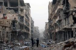 Deir al-Zor, mars 2013. © REUTERS/Khalil Ashawi
