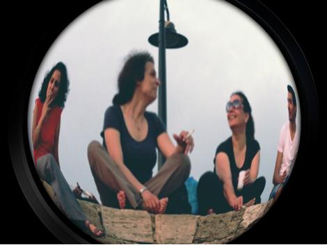 Lina, May, May et Wassem à Byblos
