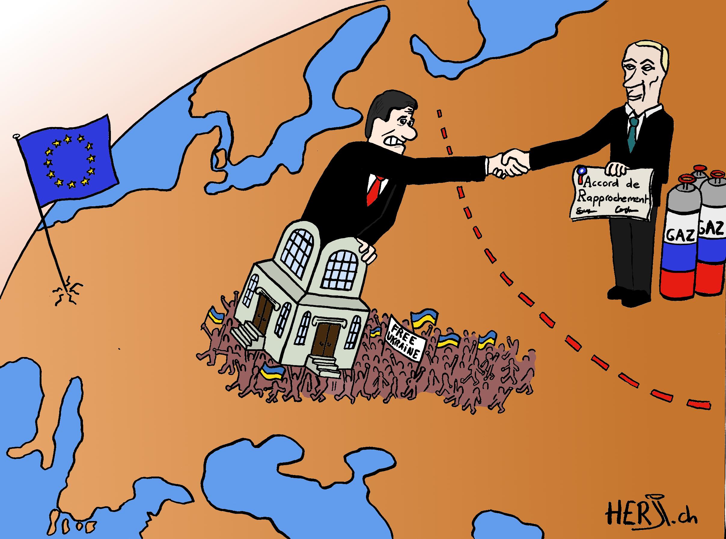 L'Ukraine se déchire