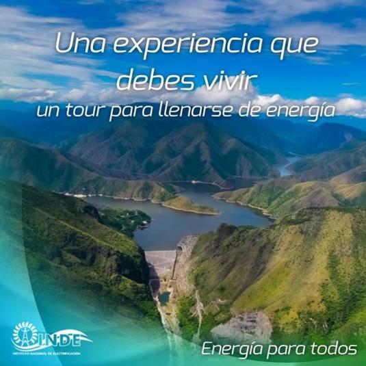 Publicité pour une excursion au barrage. © INDE