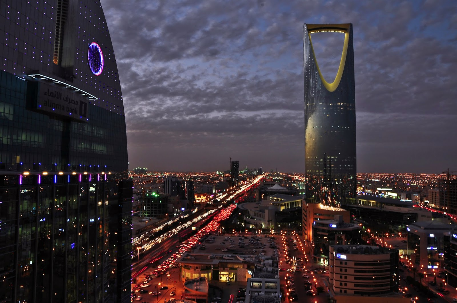 Skyline de la ville de Riyad. [Wikimedia]