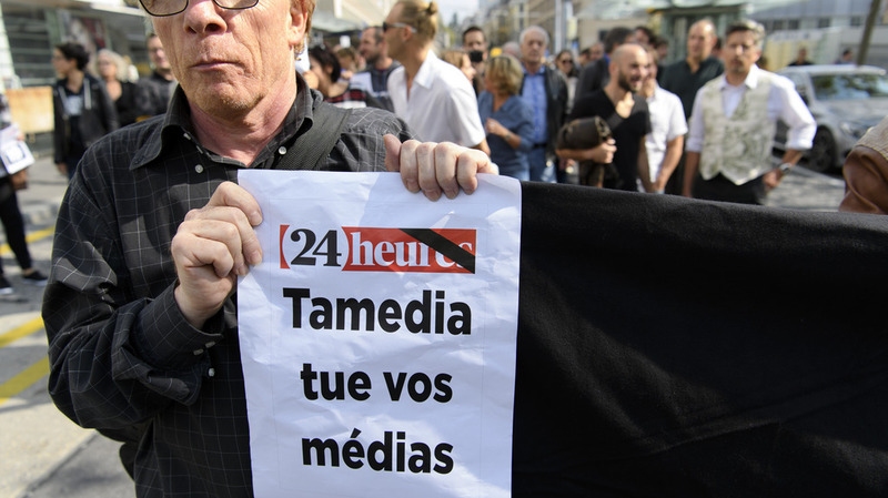 Fin de la presse romande? Mobilisation!