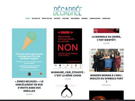 jet d'encre DécadréE – Une association pour promouvoir une presse plus égalitaire