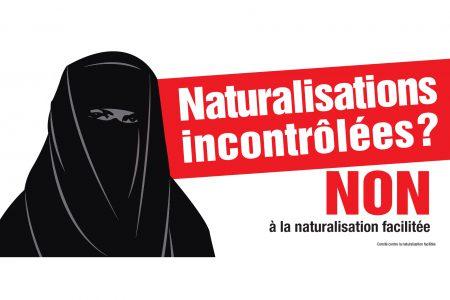 jet d'encre Naturalisation facilitée : une burqa pour mieux se voiler la face