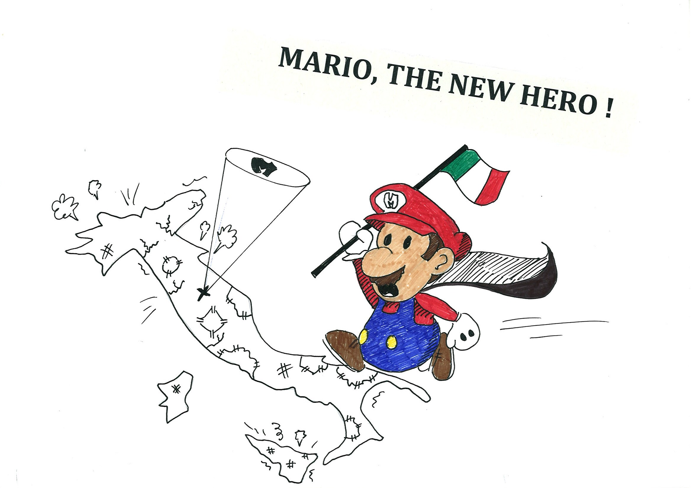 Mario, The New Hero !