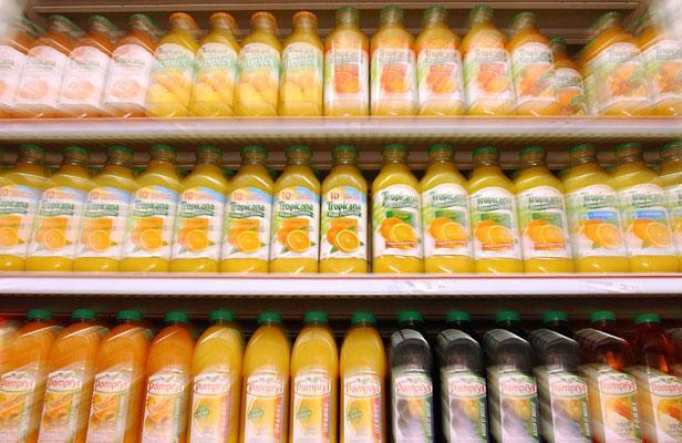 Le jus d'orange: bon pour la santé, dommageable pour la planète