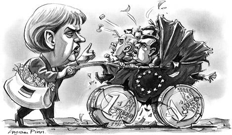 Les peuples de l'euro en crise #4: la rigueur allemande