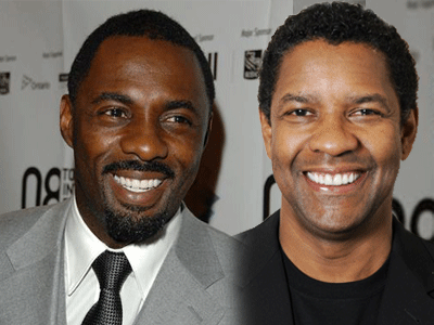 Idris Elba et Denzel Washington - © celebritynetworth.com, thesocialvip.com