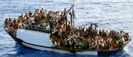 Source : « L'Italie durcit sa politique d'immigration ; l'ONU s'inquiète », mai 2009, par l'AFP pour LePoint.fr