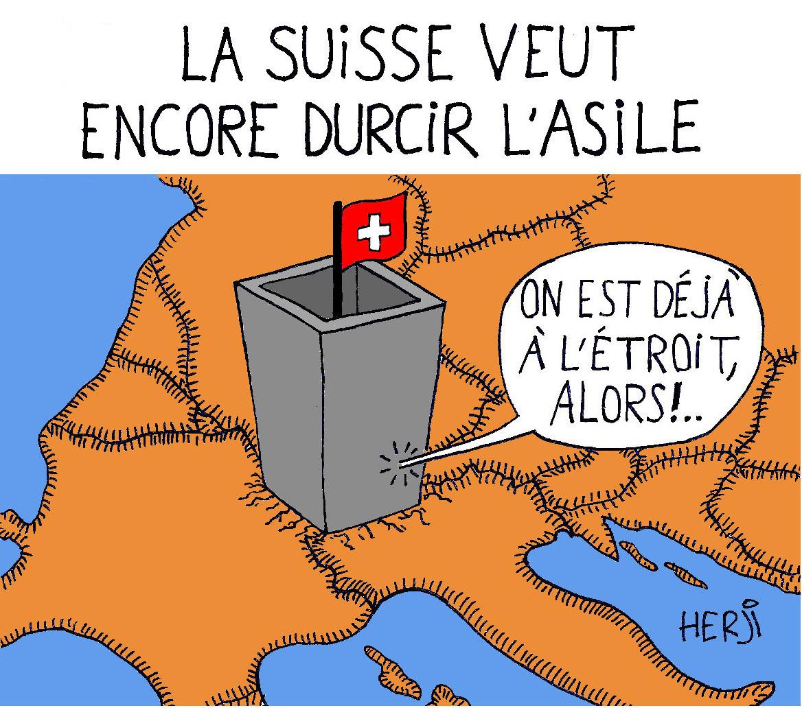 La Suisse veut encore durcir l'asile