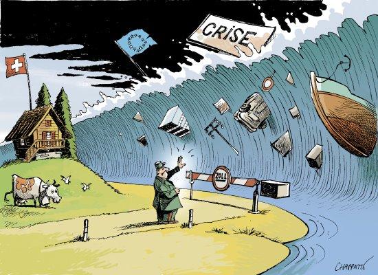 Dans les remous d'une crise