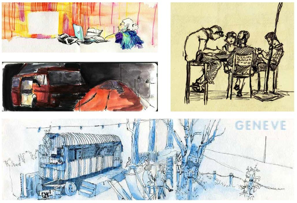Galerie de dessins de Felix Brussow