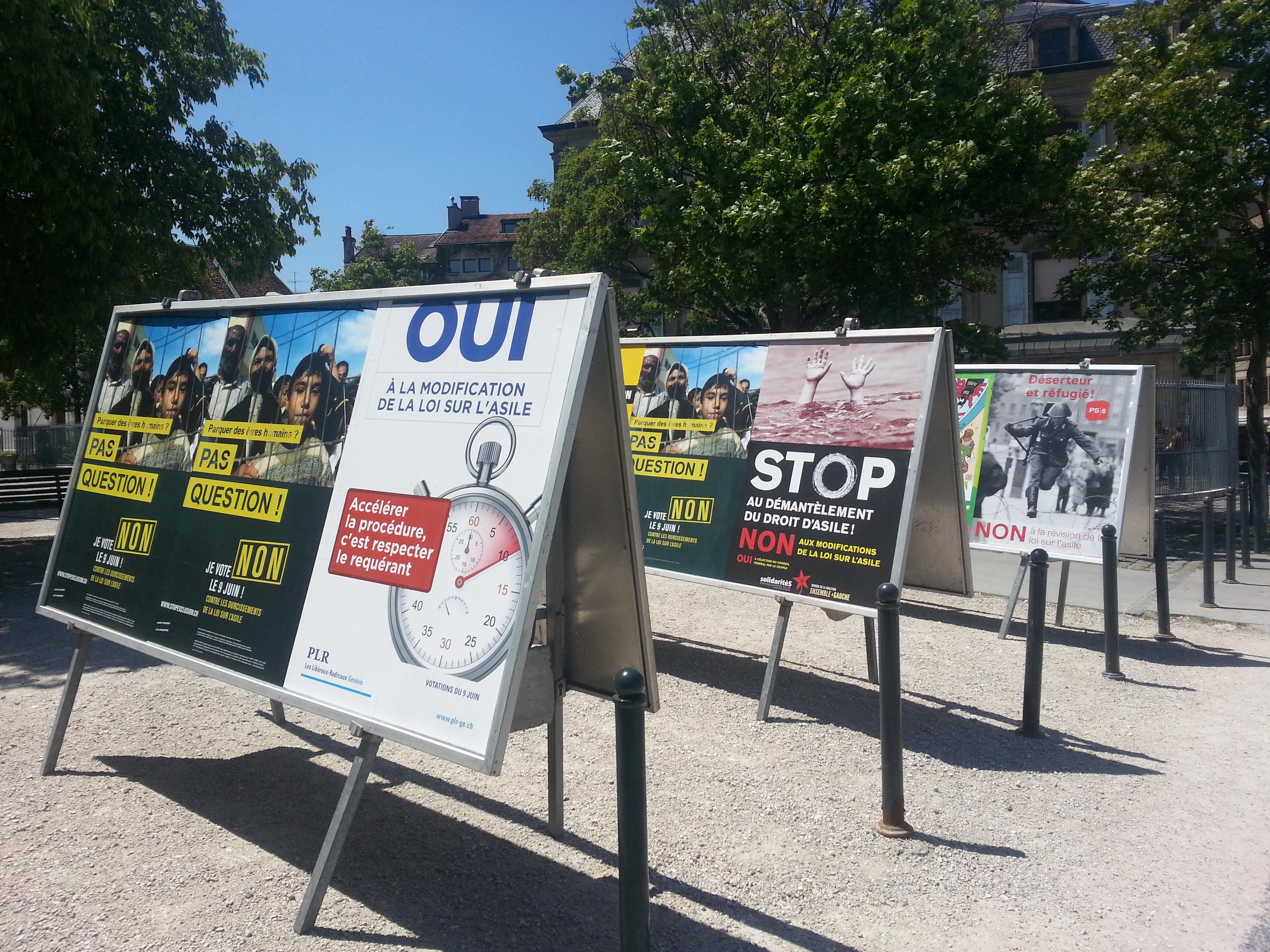 La révision de la loi sur l'asile : Inutile & inhumaine