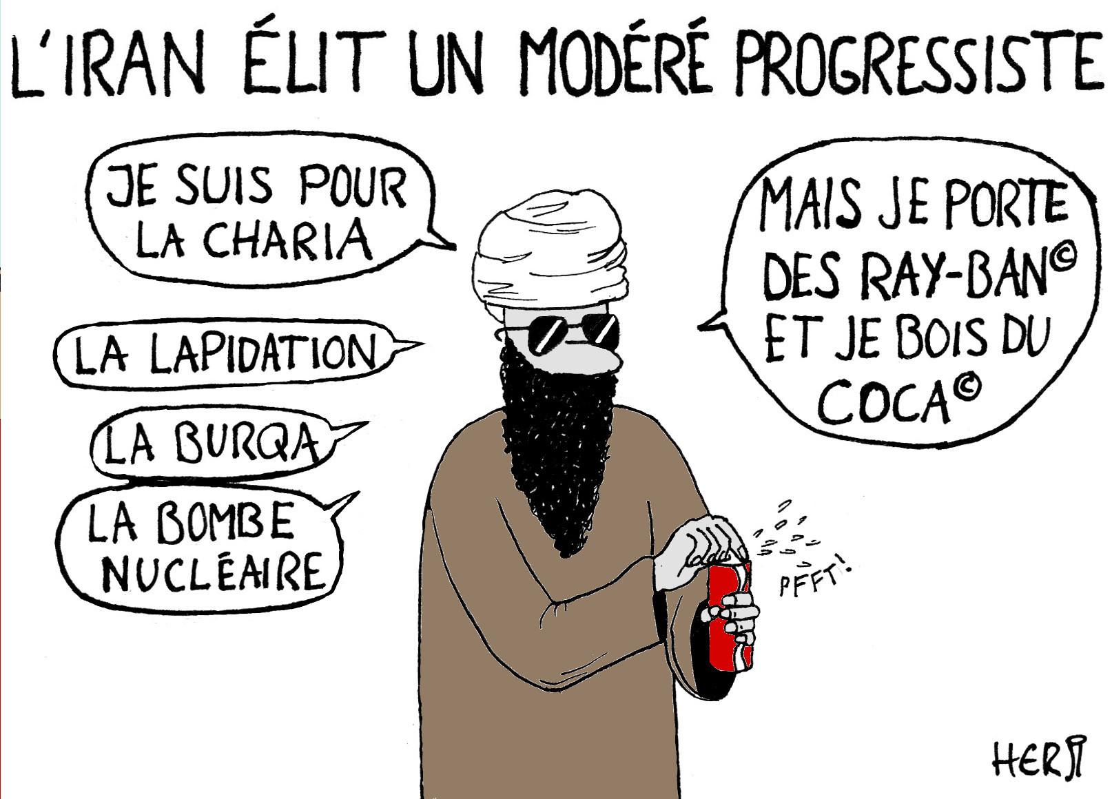 L'Iran élit un modéré progressiste