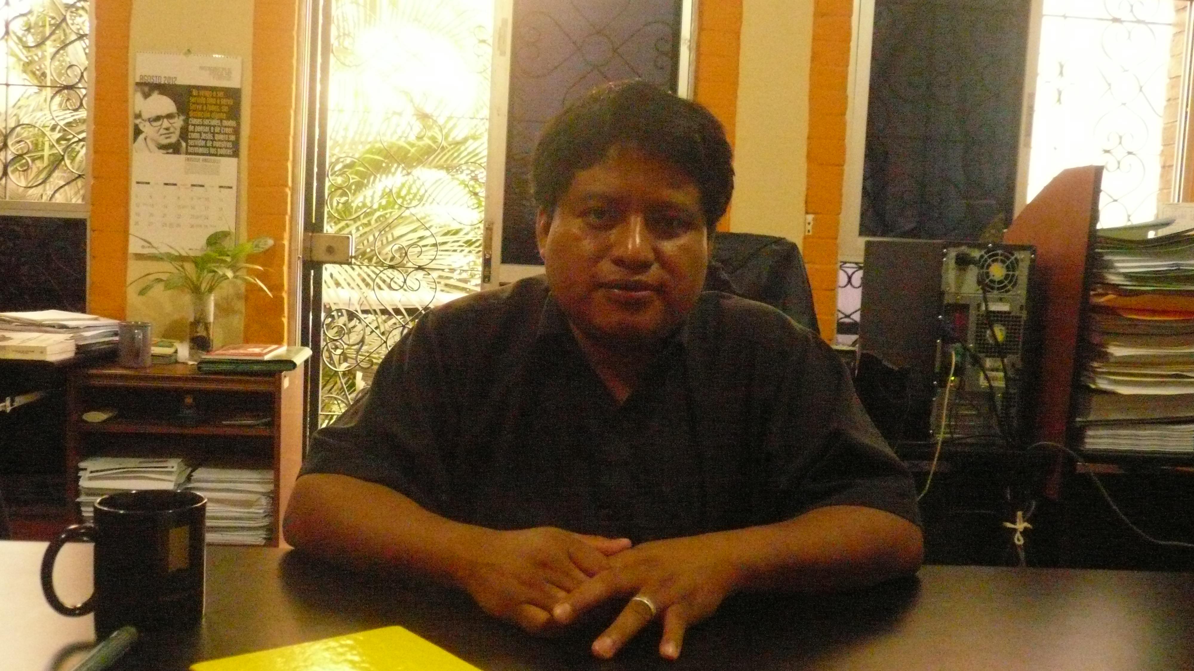 Interview d'Edwin Canil, avocat travaillant pour la défense des droits humains au Guatemala