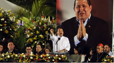 Daniel Ortega suite au décès de Hugo Chavez © www.traditioninaction.org
