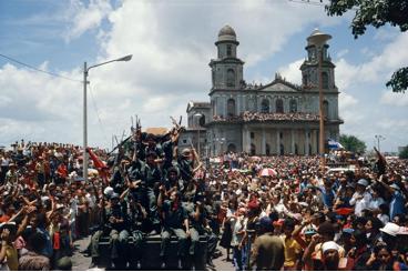 Les révolutionnaires sandinistes à Managua le 19 juillet 1979 © magnumphotos.com