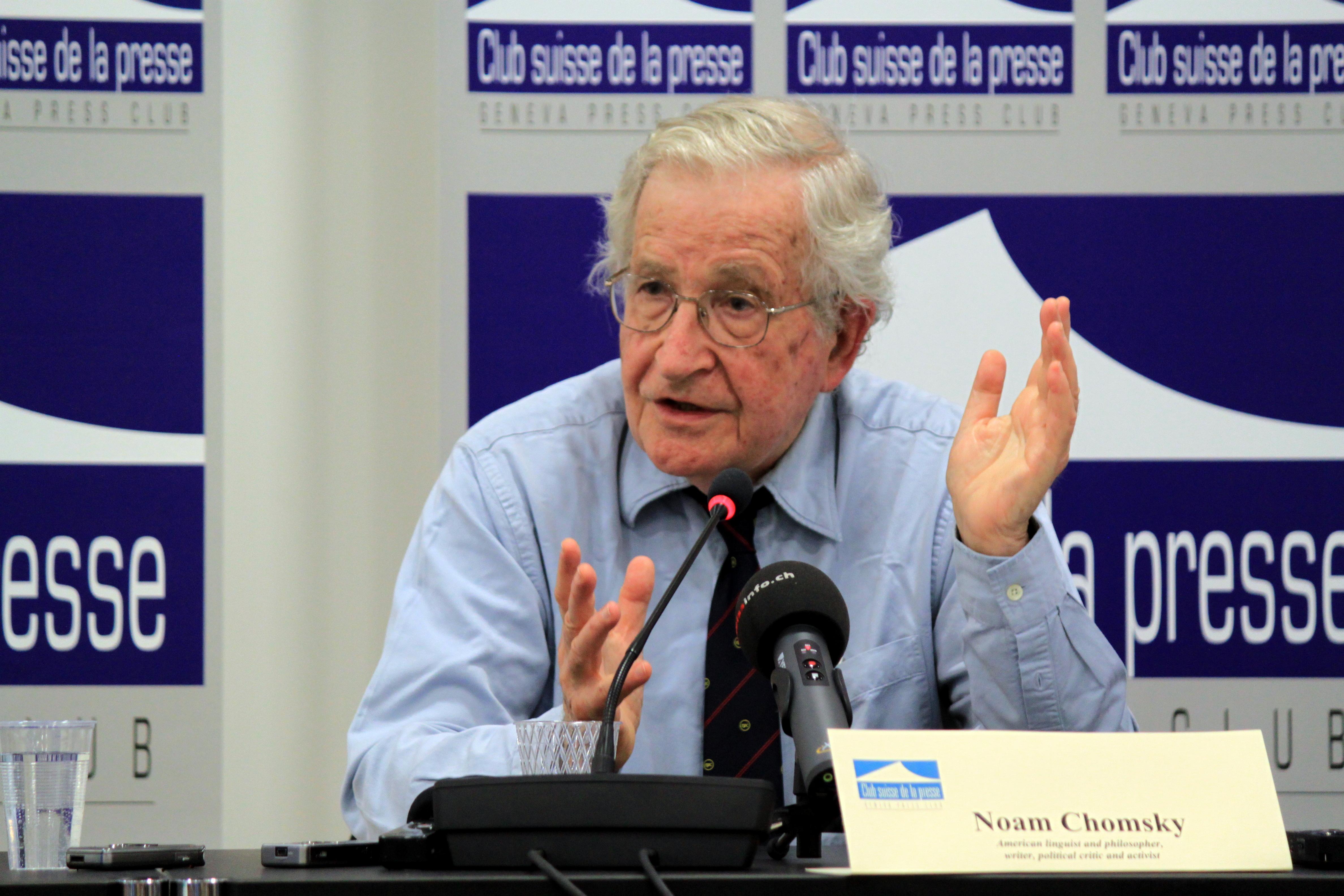 Noam Chomsky et la question du nucléaire iranien