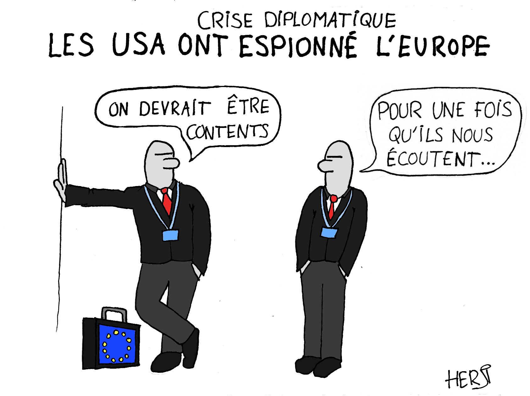 Crise diplomatique: les USA ont espionné l'Europe