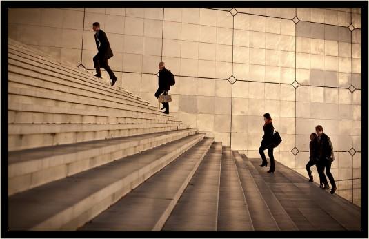 Le quartier d'affaires de la Défense en région parisienne © eos-numerique.com