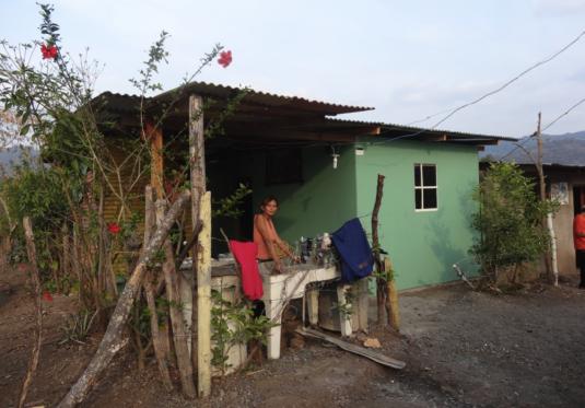 Exemple de maison après le projet © Diego Prieto Merino
