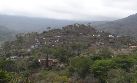 "Quartier Tomás Borge, dernier ""asentamiento"" illégal à Matagalpa © Diego Prieto Merino"