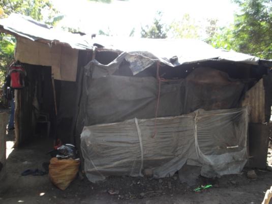 Exemple de maisons avant le projet © Diego Prieto Merino