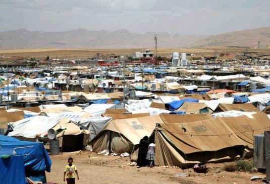 Le camp de réfugiés de Domiz dans la région kurde du nord de l'Irak (c) Life for Syria
