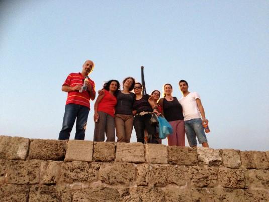 Byblos : Lina, May, May, Mayssa, Yasmina… (c) Yasmina Tippenhauer