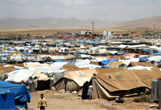Domiz Refugee Camp in the Kurdish region of Northern Iraq © Life for Syria**