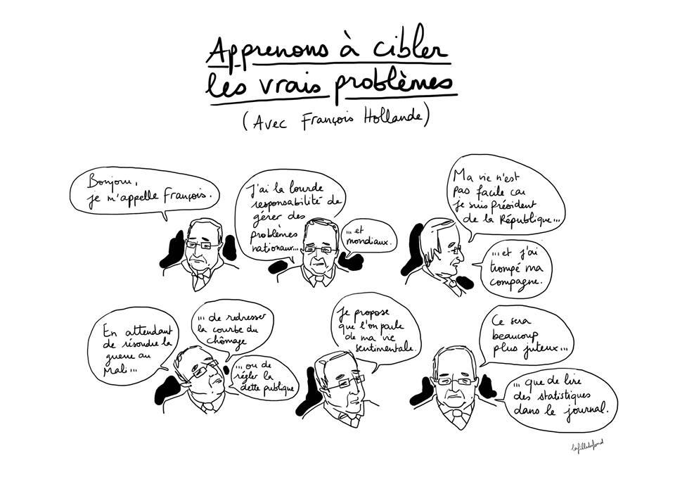 Apprenons à cibler les vrais problèmes (avec François Hollande)