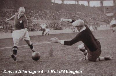 L'équipe de Suisse et la Coupe du Monde de football – Partie 1: Suisse-Allemagne 4-2, 1938