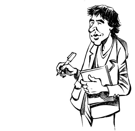 Patrick Chappatte, un journaliste (presque) comme les autres