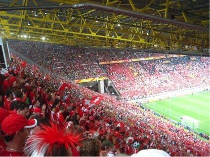 L'équipe de Suisse et la Coupe du Monde de football – Partie 4: Suisse-Togo 2-0, 18 juin 2006