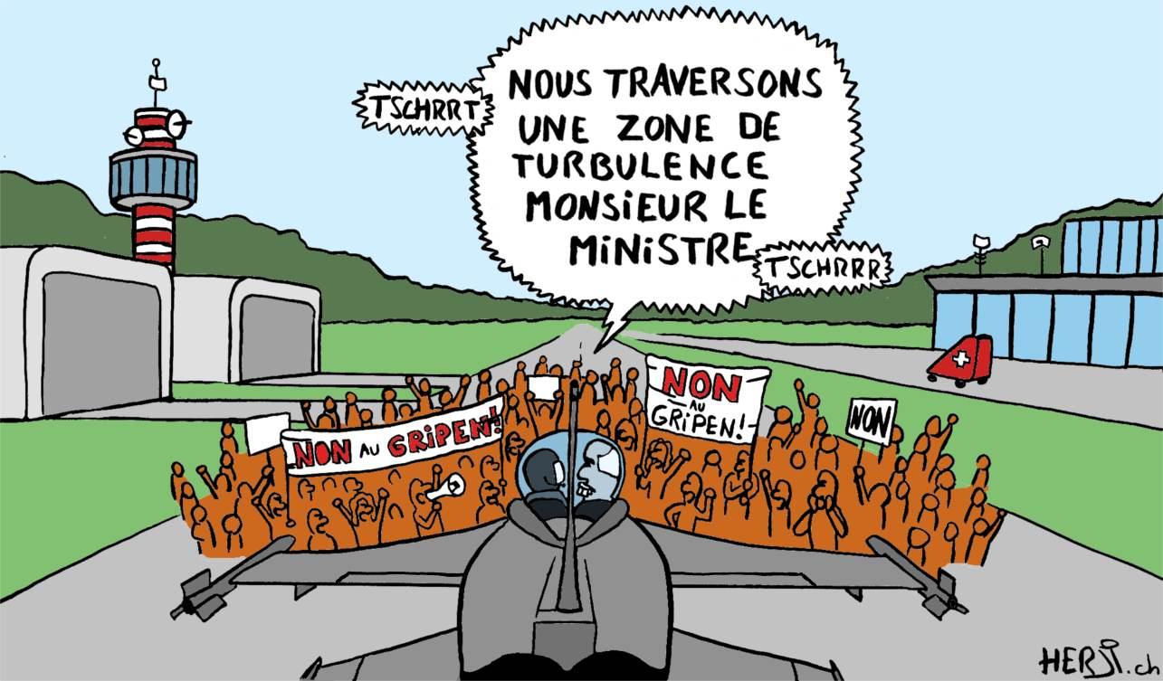 «Nous traversons une zone de turbulence monsieur le ministre»