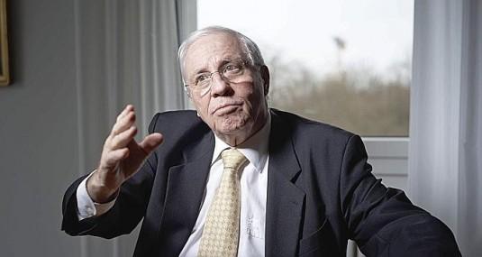 """""""Aucun accord bilatéral n'est vital"""", a déclaré vendredi Chritoph Blocher dans une interview accordée au Temps © Le Temps"""