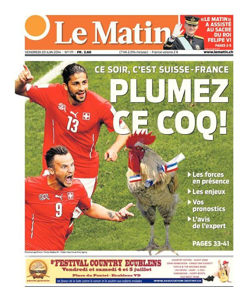 Suisse-France, une défaite salutaire?