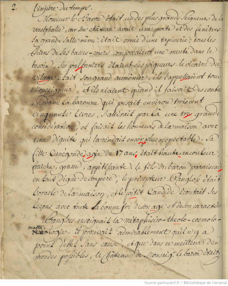 Voltaire aussi était «nul en orthographe»