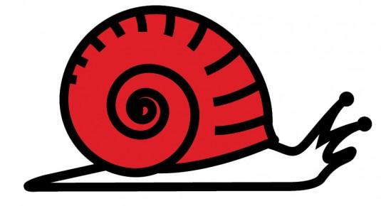 L'escargot, un des symboles de la décroissance en France.