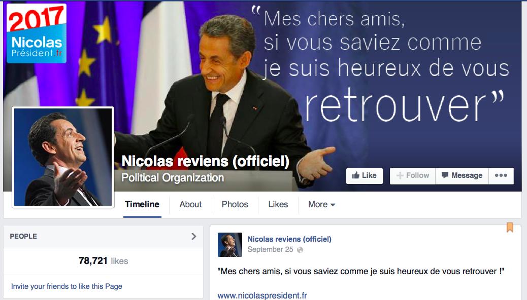 Sarkozy, en Revanchator cratopathe