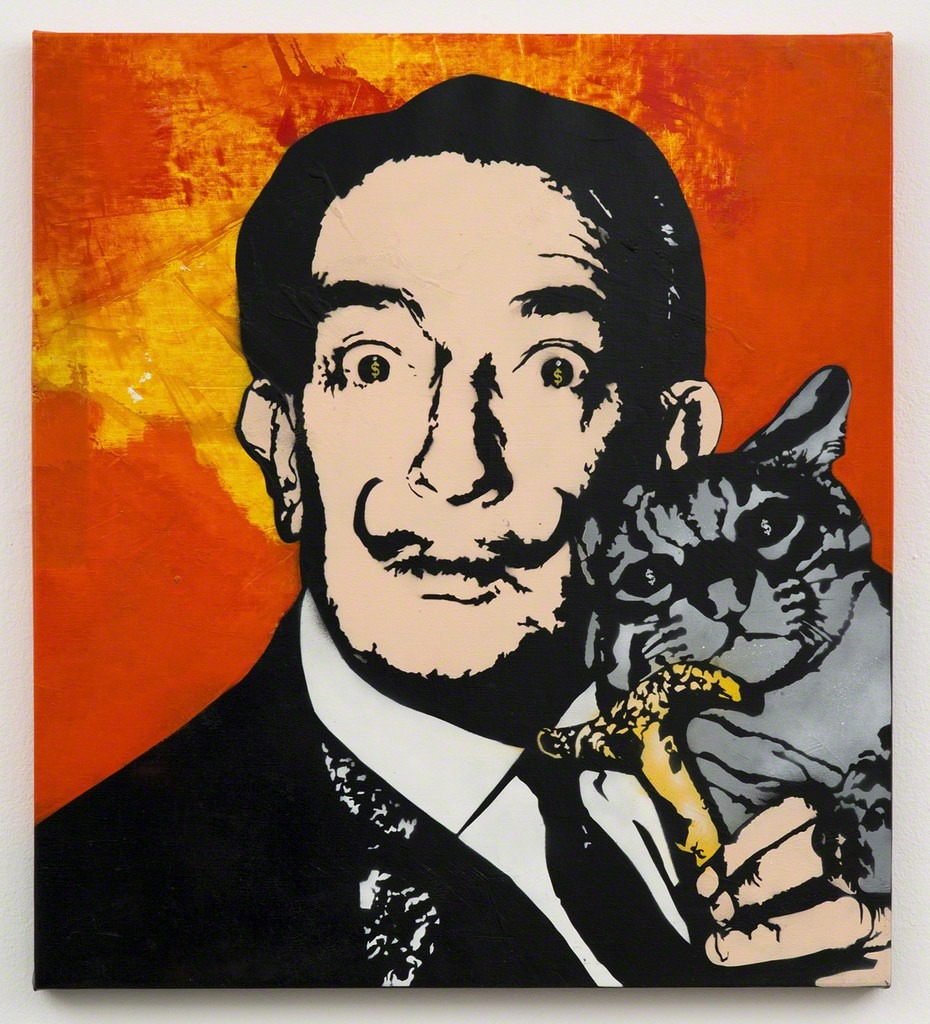 Pop Culture and Iconic Art History Mashups from the Father of Stencil Art