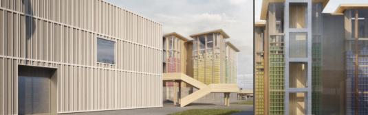 Rendu du futur pavillon suisse à Milan © Présence Suisse et Nightnurse