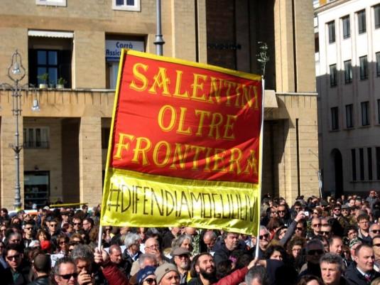 Piazza Sant'Oronzo, dimanche 29 mars 2015. © La Voce di Manduria.it