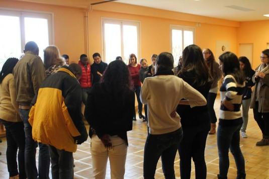 Du 3 au 12 avril dernier, 21 jeunes défenseurs des droits humains sont venus à Genève afin de participer au Cours de Formation de Base (CFB) du CODAP. L'objectif : acquérir les outils nécessaires à la réalisation de projets visant au respect des droits humains dans leur pays. © Wissem Khlaifia