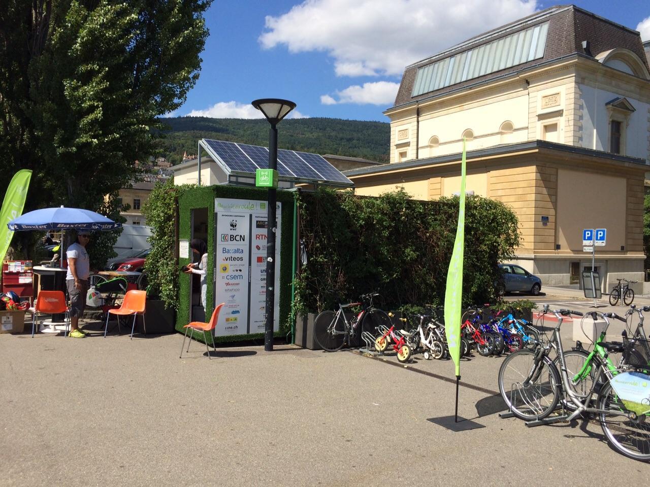 Mobilité douce accessible au plus grand nombre : l'exemple de Neuchâtel