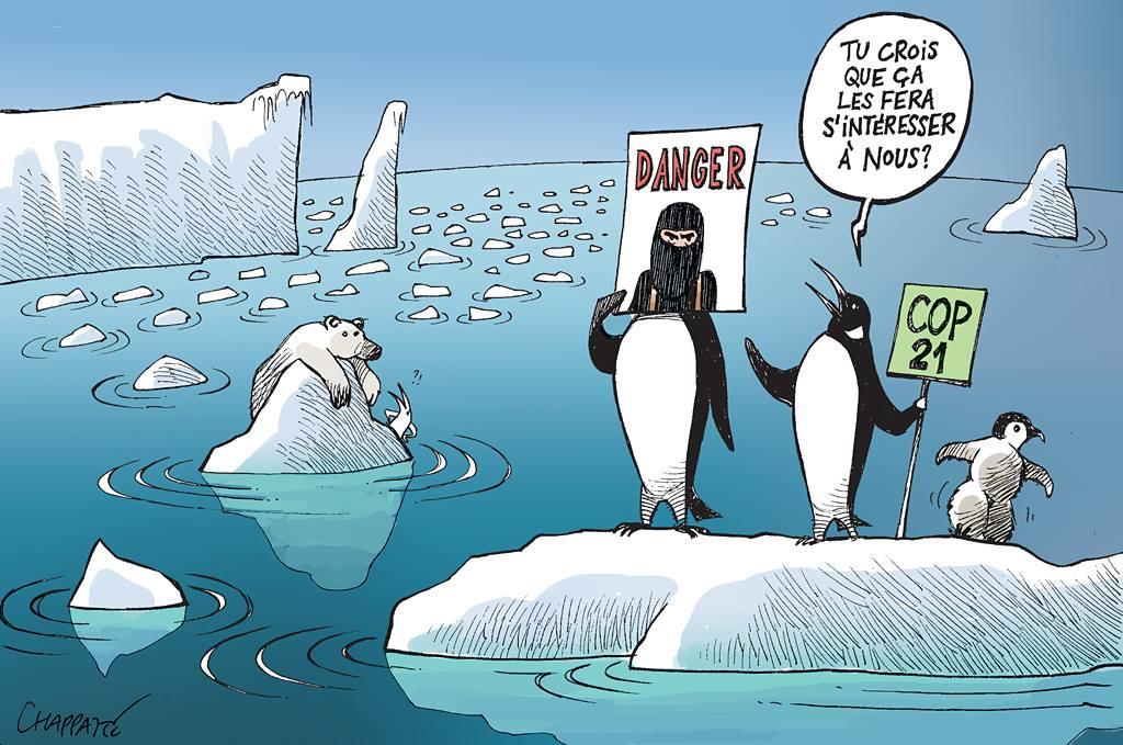 Sommet climatique dans une période sombre