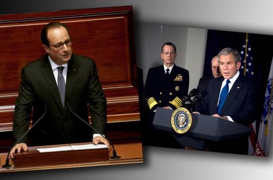 De Bush à Hollande : mêmes discours, même combat