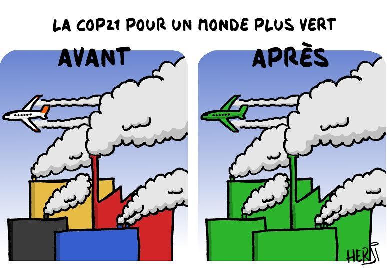 La COP21 pour un monde plus vert