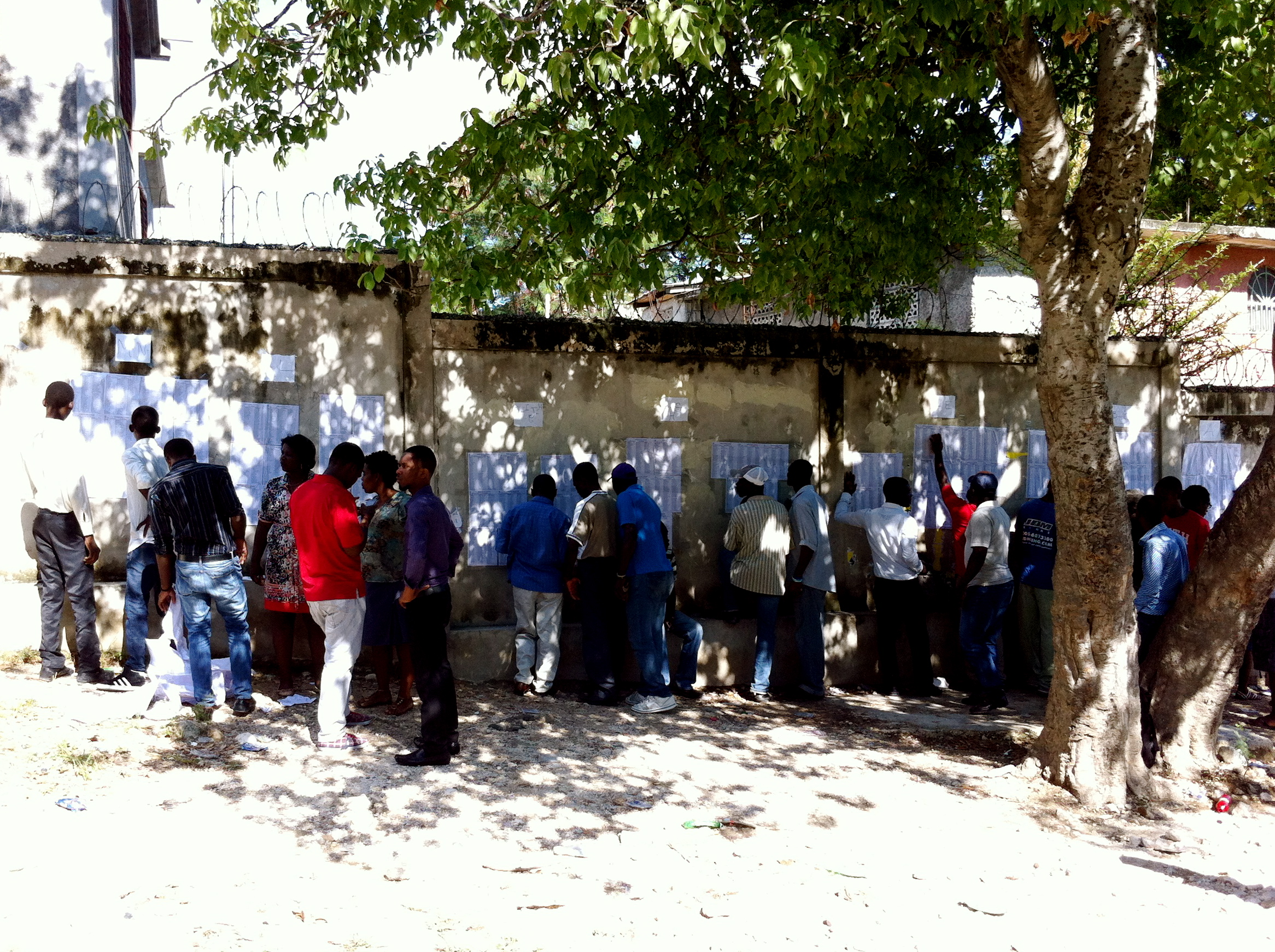 Élections à Port-au-Prince © Youri Hanne